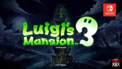 Luigi& 039;s mansion 3 nintendo switch nintendo direct gaming video games luigi luigi& 039;s mansion nintendo switch