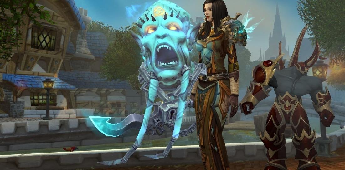 Magical Warlock Girl Getting The Demo Hidden Artifact Skin