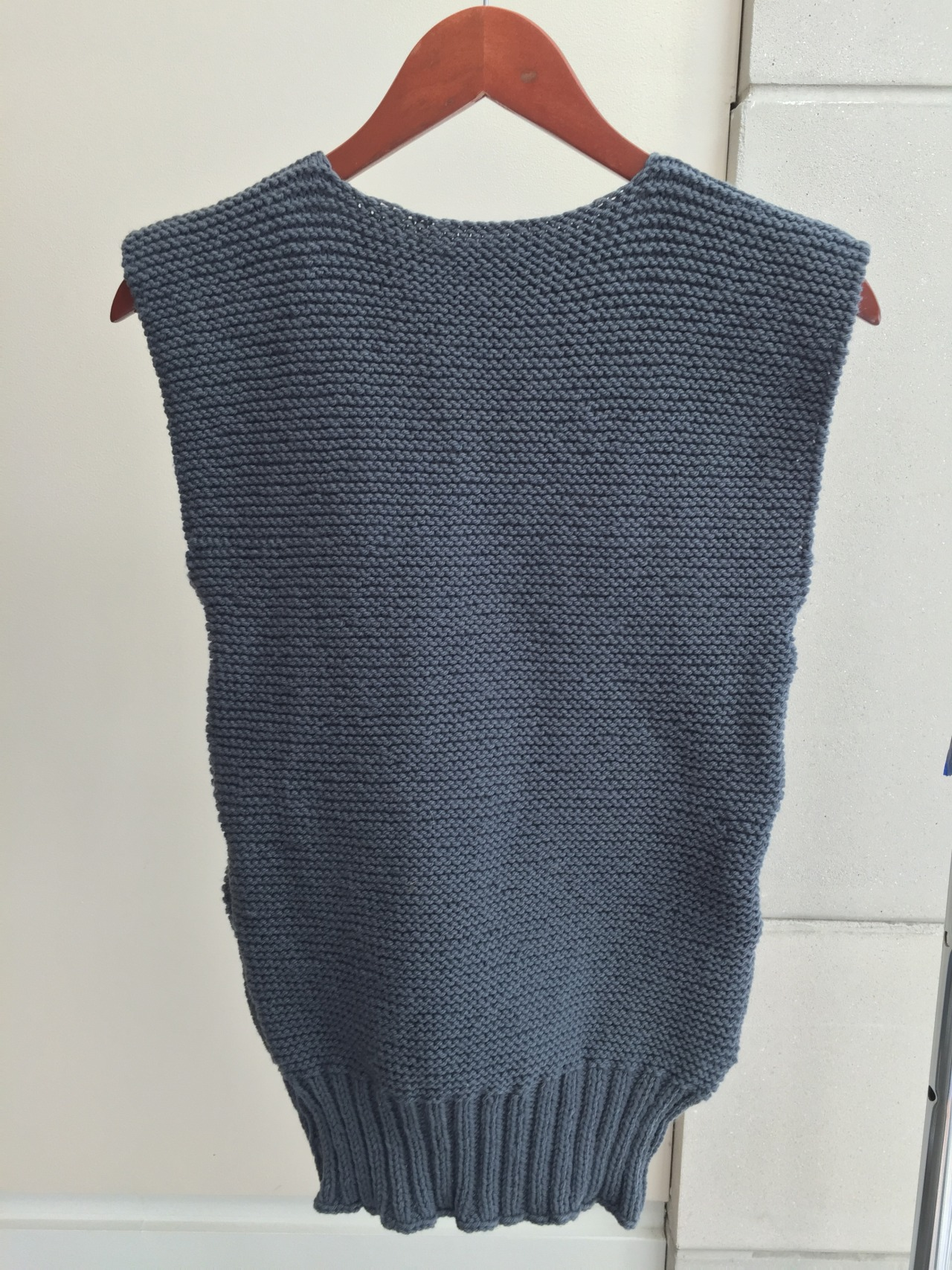 a4989c838 Knitting for Victory  American Defense Knitting — Knitted Sleeveless ...