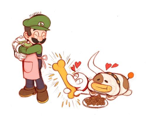 Super Mario Luigi& 039;s Mansion luigi sinryuso