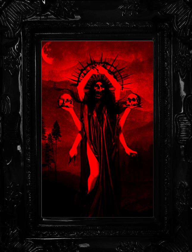 Source: salome-mi-ange-mi-demon.tumblr.com Art by: Esther Limones Edited by: @vampyred-com #vampyred#vampyr#dark#dark art#red aesthetic#macabre#macabre art#photo edit