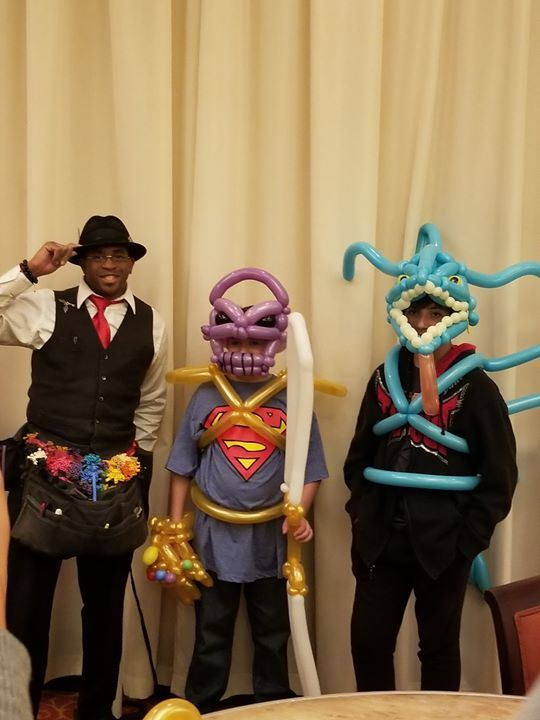 We had an awesome night on Monday with the Childrens Cancer Center. These boys couldn't get enough of William's balloons! https://ift.tt/365UJNH #IFTTT#FacebookPages#balloons#yte events#tampa#entertainment#fun