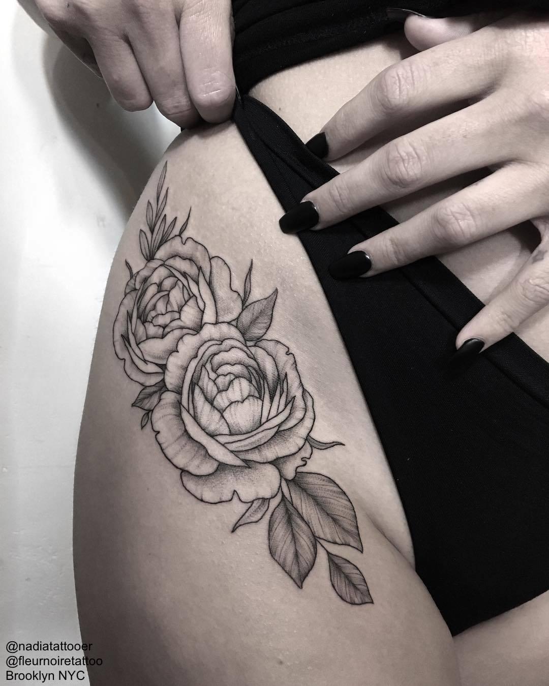 tattrx — Nadia Andriu - Brooklyn NYC Tattoo Studio :...