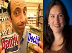 Radio Ha Ha Worldwide Podcast with hosts Danny Dechi & Rebecca Ward, plus funny music from Dr