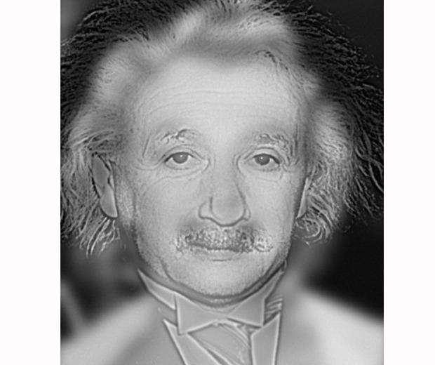 16209c2d6519f É provável que ao olhar para a imagem ao perto consiga ver o Einstein, mas