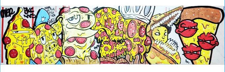 got some add ons to this yummy collaboration… #sticker#stickers#sticks#slaps#stickr#pizza