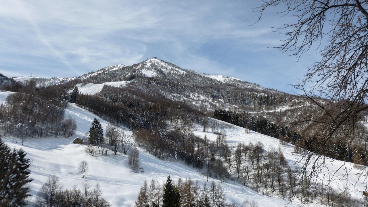 Monte Moro e Plateau. Febbraio 2013.©Matteo Ramondetti