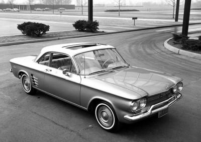 1960 Corvair Coupe Monza Design Concept
