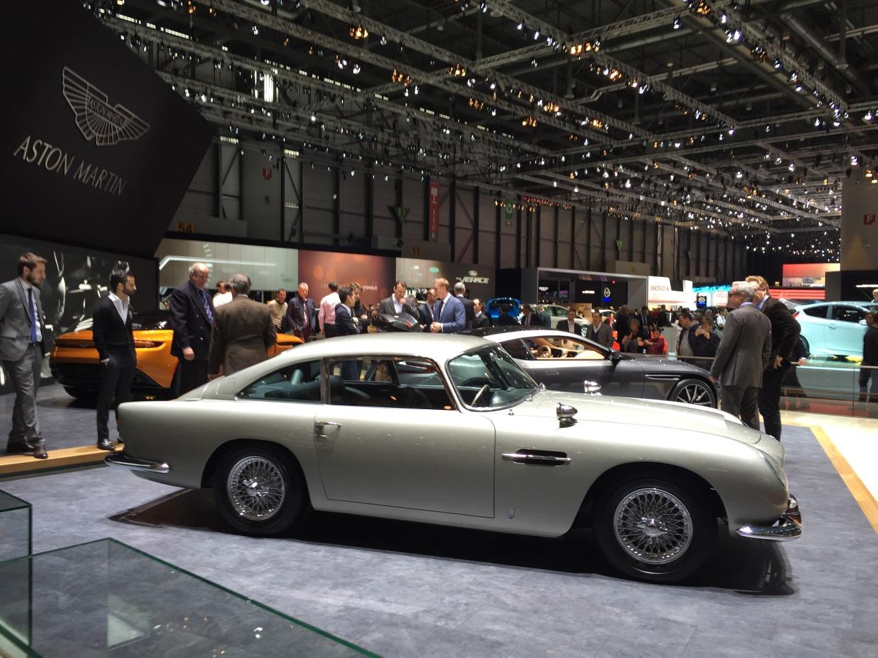 #geneva #motorshow – Aston Martin db5