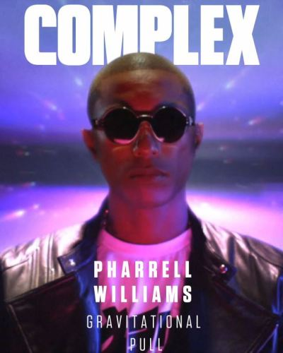 Pharrell On The Cover Of Complex's Best Of 2013 Digital Issue