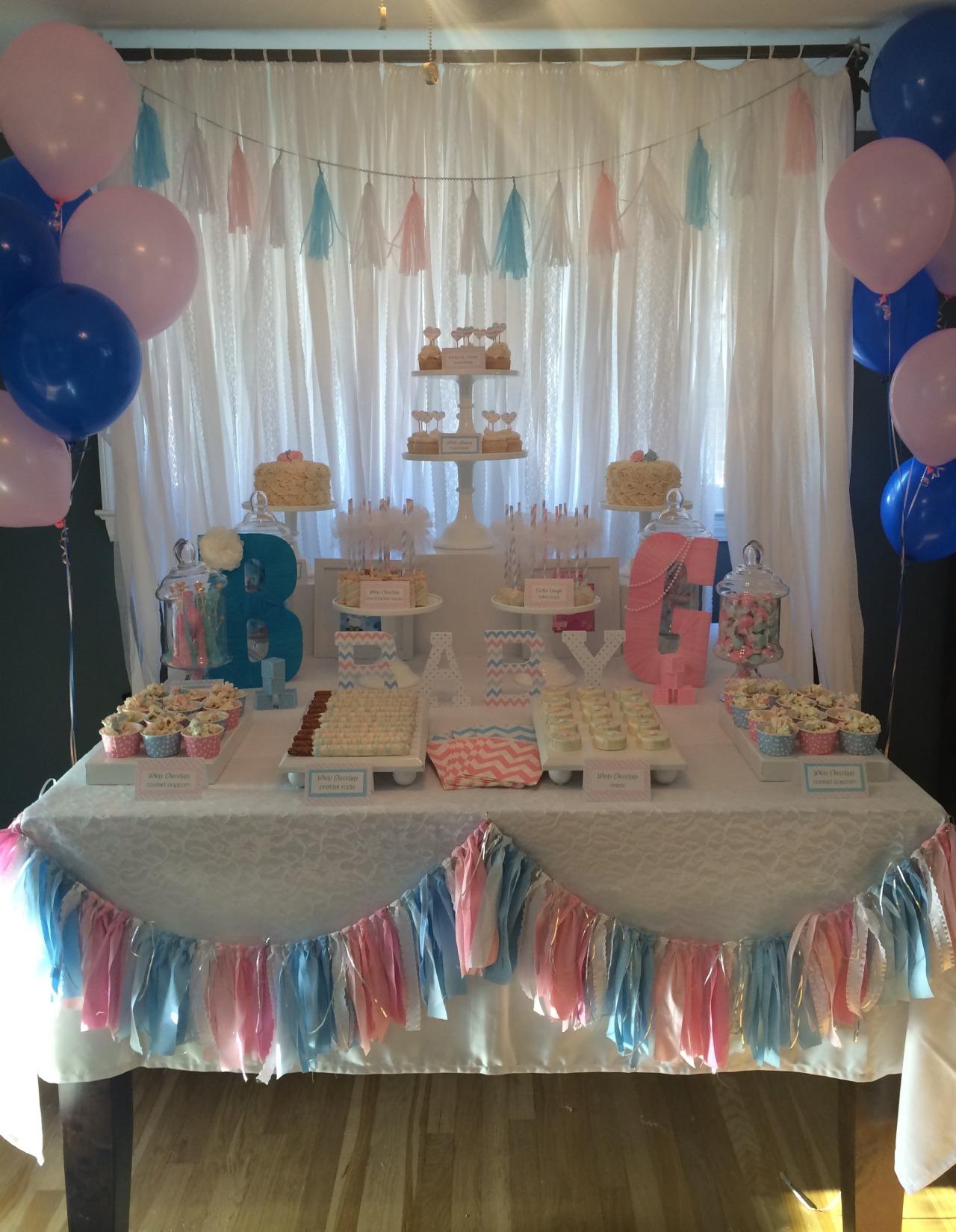 Sweet Simplicity Bakery Gender Reveal Dessert Candy