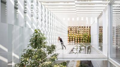 Split House / Pitsou Kedem Architectsph: Amit Geron