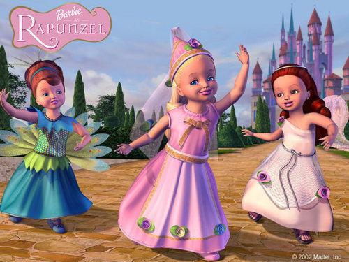 Barbie Rapunzel Tumblr