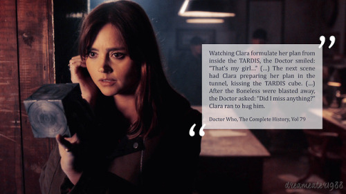 Image result for clara oswald lie to them quote