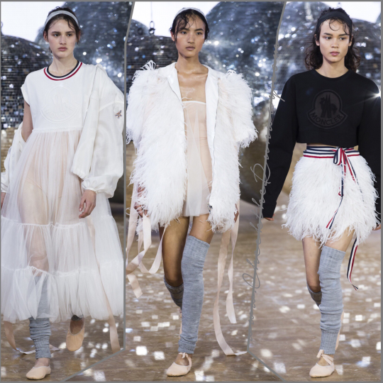 Moncler Gamme Rouge - SS18 - PFW