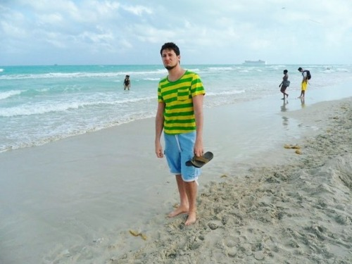 miami throwback beach stripes chinstrap 2011