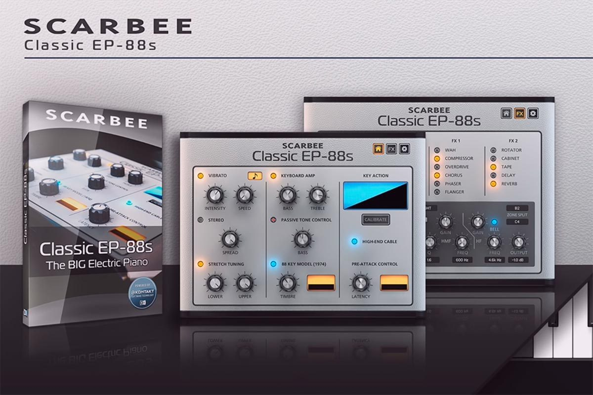 Scarbee Classic EP-88s ELECTRIC PIANO KONTAKT