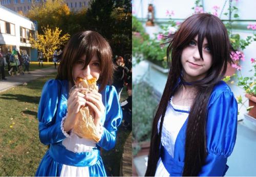 alice cosplay alice baskervilles Pandora Hearts con alice x food