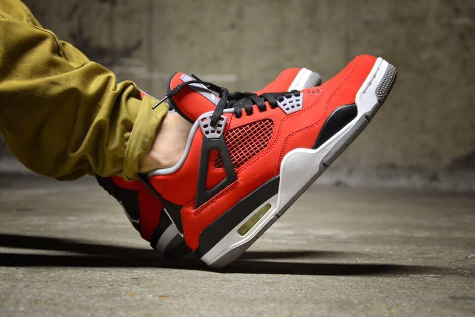 reputable site 24ae2 e574e Nike Air Jordan IV  Toro Bravo  (by Paul Cortex  ...