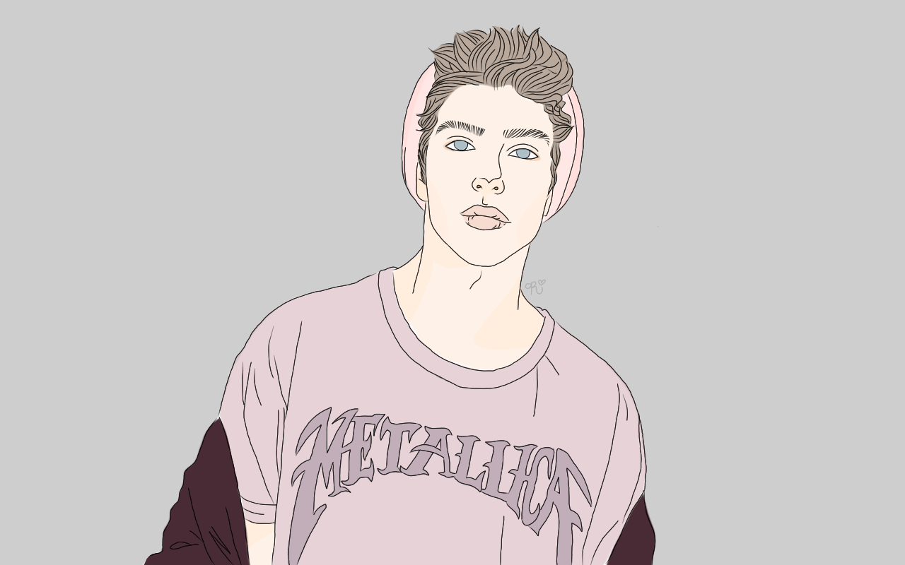 Draw cute hipster boys tumblr
