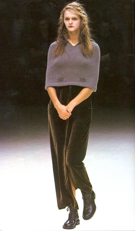 archivings:  Yohji Yamamoto Fall/Winter 1999