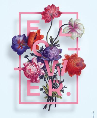 Illustration Flower by Aleksandr Gusakov