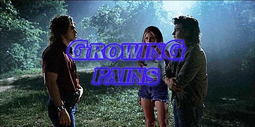 """Growing Pains: Chapter OneSummary: Life is hard when you're about to turn 18. It's even harder when you realize you might be completely out of love with your long time boyfriend, and you can't stop thinking about the new boy in town.Pairing: Billy Hargrove/OFC, Steve Harrington/OFCA/N: Happy Stranger Things day everyone! I'm so excited for this fic! We all know I love an Arcade Dreams AU. This is gonna be taking place in the summer of 85, because we all know Billy deserves a nice summer instead of the one he got. I'm also gonna be giving a name to Steve's mom because she's gonna appear quite a bit and honestly @ the duffer brothers give us more content with Steve's parents. It's also the first appearance of Hopper! Teddi! I hope you all enjoy it!It was Sunday morning. Well, technically afternoon. If Teddi cracked one of her eyes open she could see the sun trying to shine through the ugly, off white, checkered curtains that perfectly matched the ugly, off white, checkered wallpaper that she hated. Teddi squoze her eyes shut and willed herself to go back to sleep. She didn't want to look at the little digital clock on the nightstand beside her.As Teddi snuggled further under the plushy, dark blue comforter an arm snaked around her middle. She smiled as her back met a warm chest she hadn't realized her body had been missing so much. """"Rise and Shine, Teddi Girl."""" her boyfriend, Steve Harrington mumbled into her hair. He combed his fingers through it gently in an attempt to wake her up. Heather Holloway had just helped her dyed it. They had bleached Teddi's sandy blonde hair into an almost platinum white color. Steve called her Casper when he first saw it.Teddi groaned and buried her face into her pillow. """"Five more minutes."""" she complained.""""It's past noon!"""" Steve laughed. """"C'mon, Ted, this is our last summer of freedom. We should be outside doing stupid, reckless stuff."""" Teddi didn't want the reminder. They had graduated from high school only two weeks ago. Steve seemed"""