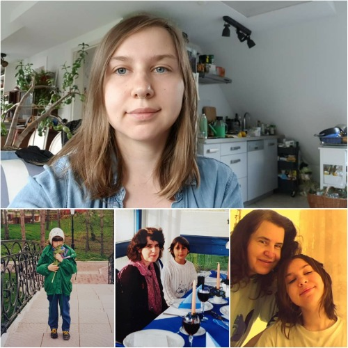"""""""I lived with my biological mother in Moscow until I was nine..."""