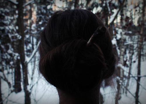 fe58c8025 Four elements hair stick • Wooden hair pin • Hair accessories • Hair jewelry  • Wooden hair stick • Nature jewelry • Tribal hair pin • Shaman