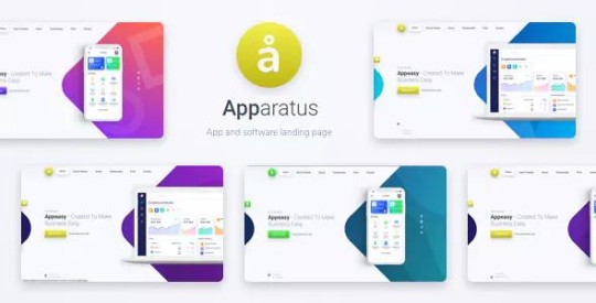 Apparatus v1.5.1 – A Multi-Purpose One-Page Landing Theme Nulled