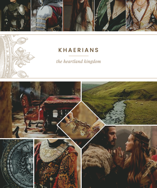 """The Khaerians the heartland kingdom Located in the heartland kingdom of Rhone are the Khaerians, a conservative and well-to-do people that revel in intrigue, ambition, and courtly matters. While the vast majority of Khaerians live in small towns and villages throughout the kingdom, it is the cities – especially the capital city of Dornlach – where """"all the fun is to be had"""". Khaerians are known as being standoffish, highly reserved, and quite severely patriarchal compared to their neighbors. INSPIRATION: medieval europe, shows such as """"Reign"""" and """"The Tudors"""", King's Landing, book series by Tamora Pierce and R.A. Steffan Teasers: users of sigil-based magic with a multitude of capabilities, a proper absolute monarchy, the land is divided into marks overseen by marquesses, their language is french-based, all about that courtly intrigue and entertainment Have questions about the Khaerians? Ask in our Queries box. #ffrpg #fury and fire #khaerians#culture teaser#high fantasy #medieval fantasy rpg #historical fantasy#jcink#jcink premium#coming soon"""