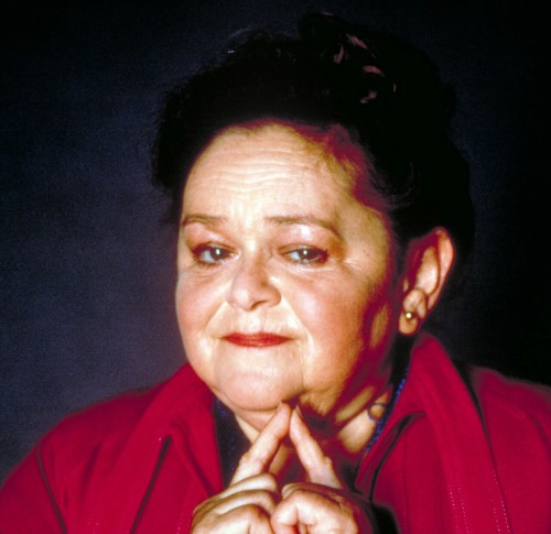 zelda rubinstein young