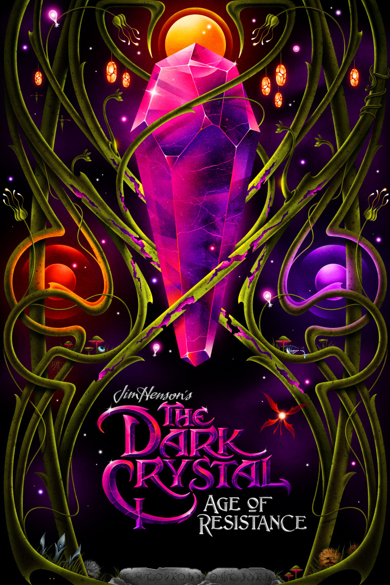 #dark crystal #age of resistance  #The Dark Crystal: Age of Resistance #fantasy#jim henson#puppets#Thra#Gelfling#Skeksis#mystic#alien#crystal#world#trippy#poster art#netflix
