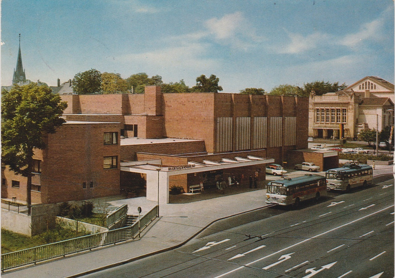 Congress Hall (1966) in Gießen, Germany, by Sven Markelius