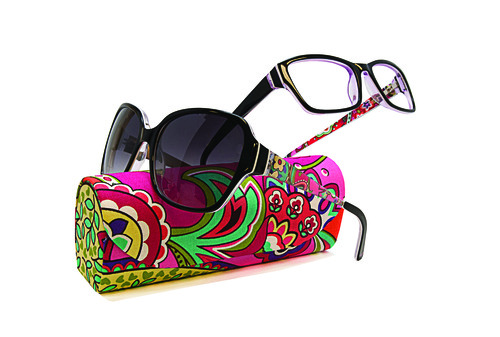 b48a416e8f7d The McGee Group s annual Vera Bradley Breast Cancer Awareness collection  makes a splash with five ophthalmic and four sun styles. Pink Swirls