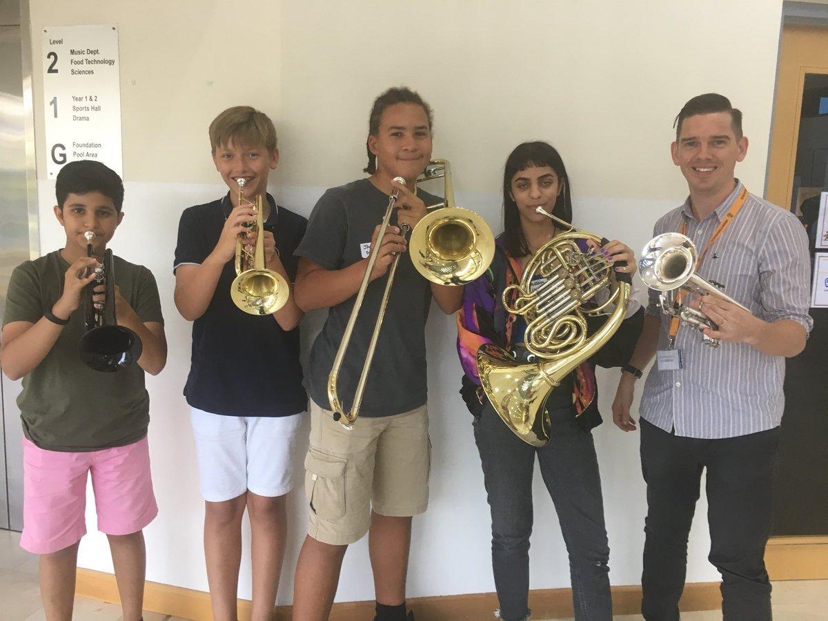 Dubai College Latest News Creative — Brass Day at British