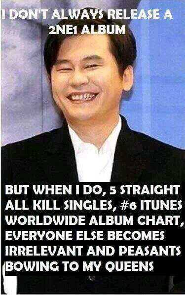 YG FAMILY papa yg 2ne1 real troll love this man please be my father