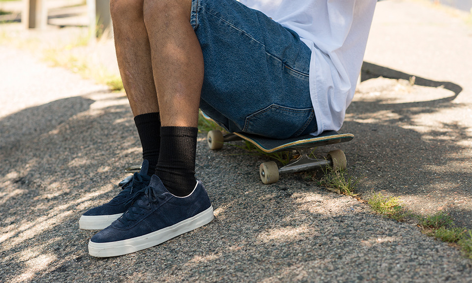 """2ecf2ef5bfc5 """"Sage Elsesser Takes the Converse One Star for an Upgraded Modern Spin  Marcus Cho"""