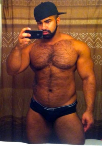 Woof! Hairy beef! #RealMan
