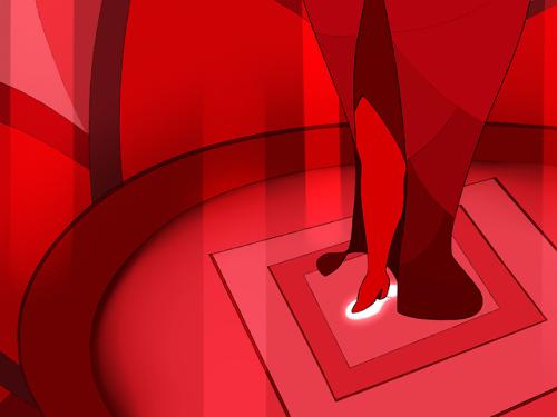 gemcrust steven universe red diamond gemsona diamond ship leg ship