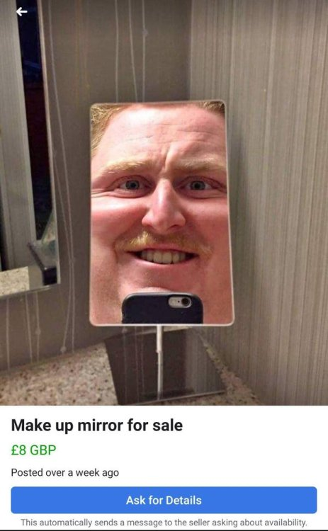 zsnes:  bunjywunjy: now THIS is how you photograph a mirror. unapologetically. mr incredible the american bastard