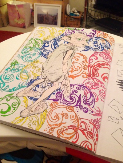 harry potter coloring book   Tumblr