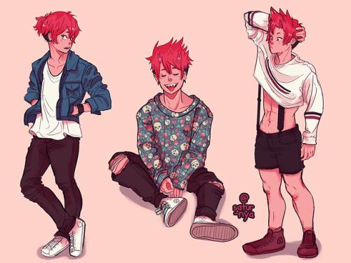 Satur Nya Clothing Study Featuring Kirishima Also