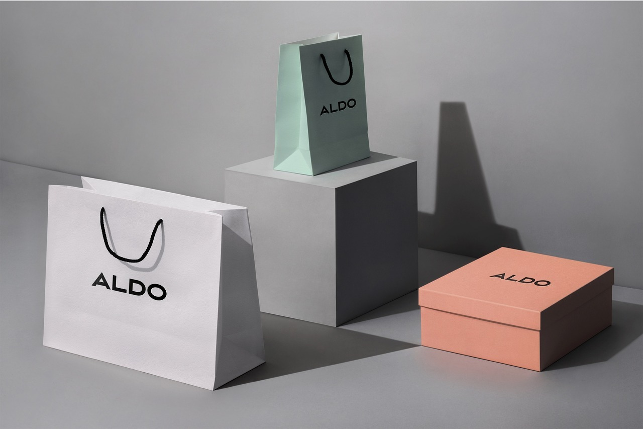 "Brand Identity for Aldo by Collins ""Every aspect of the experience now works to build the trust and enthusiasm consumers have for Aldo products. By introducing a new design system and fine-tuning key elements (like carefully re-crafting their famous..."