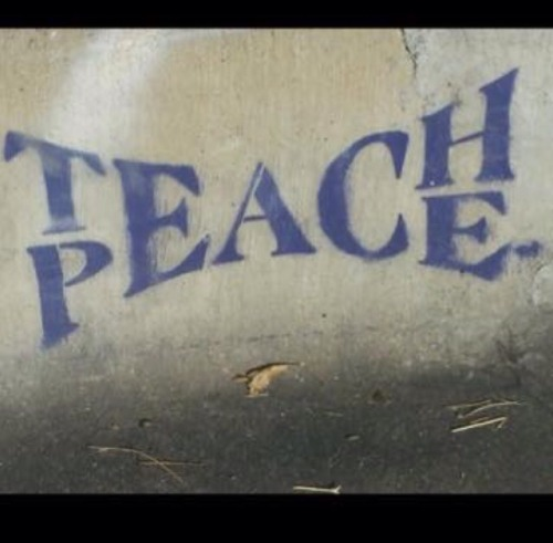 peace nonviolence teach peace
