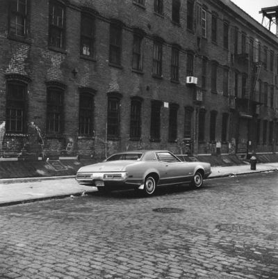 oldnewyorklandia:Peter Hujar, Parked Car, Brooklyn, 1976.