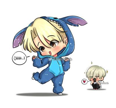 Yoonmin Chibi Tumblr