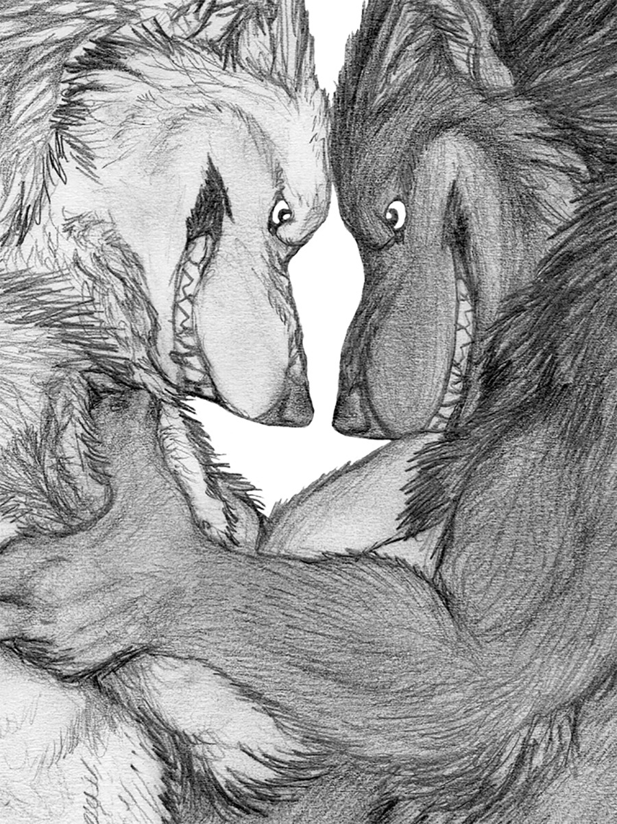 Werewolves Versus - Love Like Lunacy A preview of Kigai Holt's