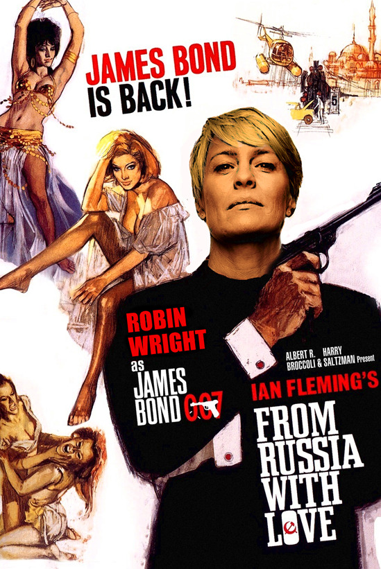 Robin Wright Bond