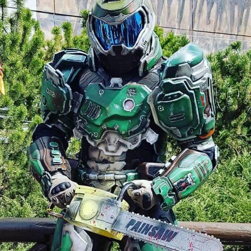 games gamers epic doomguy cosplay ever